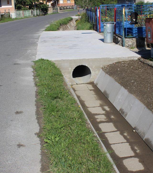 Odvodňovací kanál - Brusnica (šanec)