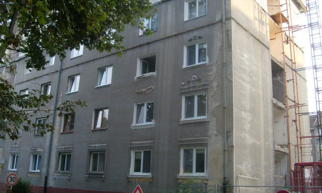 Bytový dom Košice Jesenná, bytovka