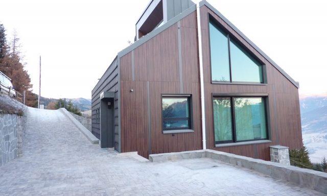 Moderná Stavba Rakúsko Horský dom